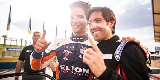 Sérgio Jimenez e Werner Neugebauer largam na pole dos 300km de Goiânia; Carlos Renaux e Matheus Iorio lideram classe 3.8