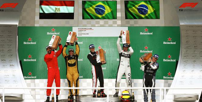 Eloi Khouri vence a primeira prova da Porsche Império Carrera Cup 3.8 sob chuva em Interlagos; Carlos Renaux vence na GT3 Cup 3.8