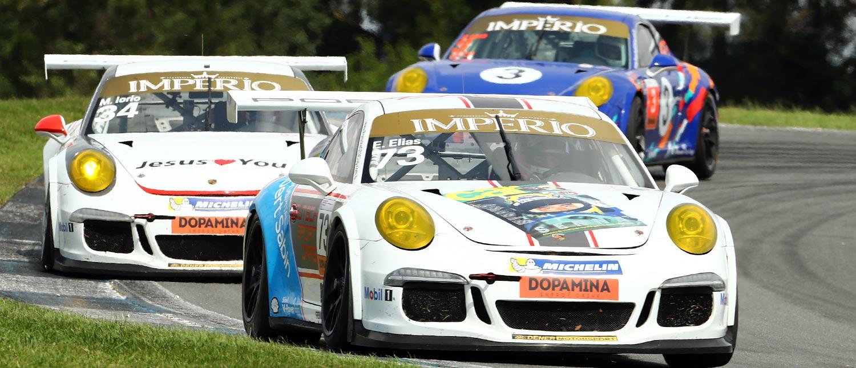 Enzo Elias vence a primeira da Carrera Cup 3.8 em Curitiba, enquanto Fran Lara arrebata vitória na GT3 Cup 3.8