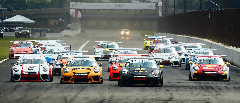Werner Neugebauer vence primeira prova da Carrera Cup 4.0, enquanto Rodrigo Mello triunfa na classe GT3 Cup 4.0