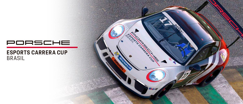 Porsche Império Carrera Cup apresenta seu campeonato de automobilismo virtual, o Porsche Esports Carrera Cup Brasil