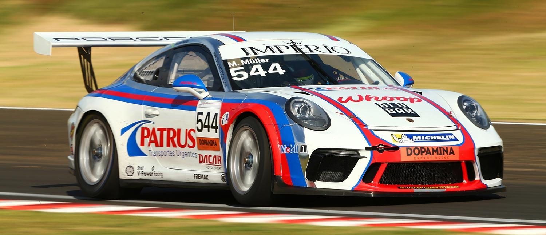 Marçal Müller é pole no Velo Città com direito a tempo recorde do circuito; Sylvio de Barros sai na frente na GT3 Cup 4.0