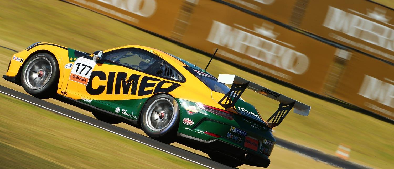 Em dia de Junior Program, Marcel Coletta reina pela Porsche Império Carrera Cup no Velo Città