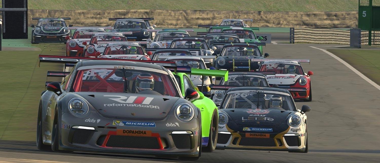 Com mais de 100 inscritos, primeira etapa do Porsche eSports Carrera Cup Brasil começa nesta terça-feira