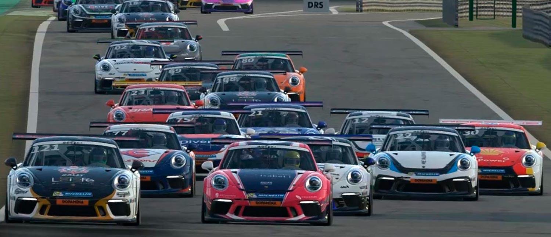 Terceira e última etapa do Porsche eSports Carrera Cup Brasil acontece nesta quinta-feira em Interlagos
