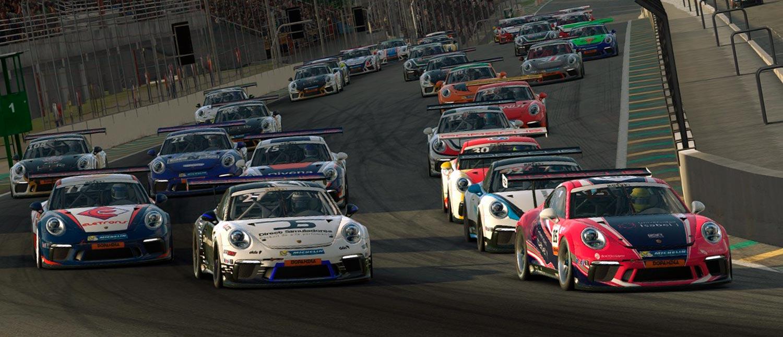 Porsche Cup e Porsche Brasil promovem a Corrida das Estrelas em automobilismo virtual
