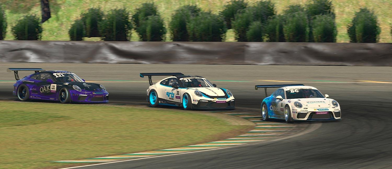 Agustín Canapino ganha a Corrida das Estrelas da Porsche Cup em automobilismo virtual