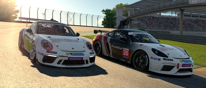Com duas categorias e 24 corridas em 6 datas, Porsche apresenta seu programa Esports para 2020