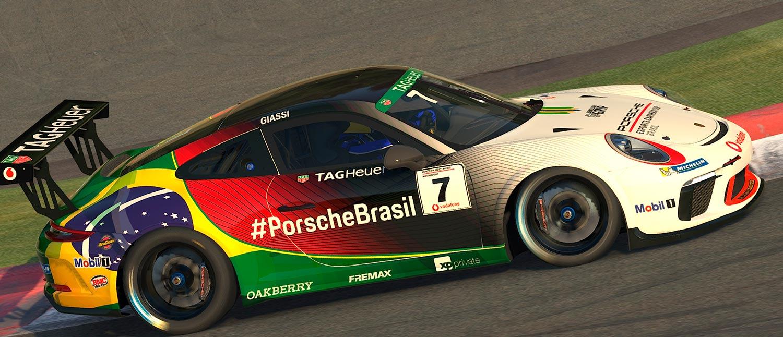 Porsche apresenta seu piloto oficial em automobilismo virtual para competir também no asfalto