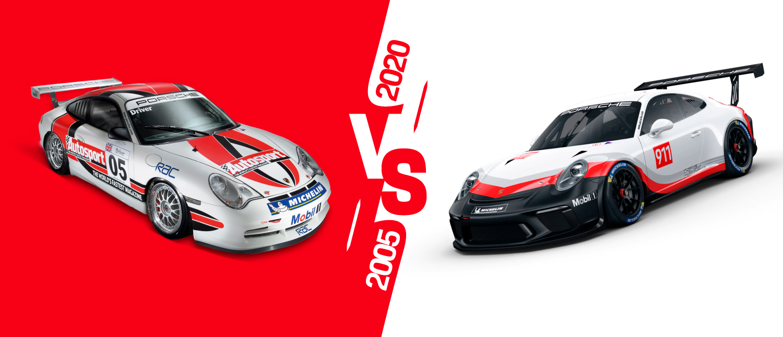 Porsche Cup 15 Anos – O que mudou nos carros da Cup ao longo do tempo?