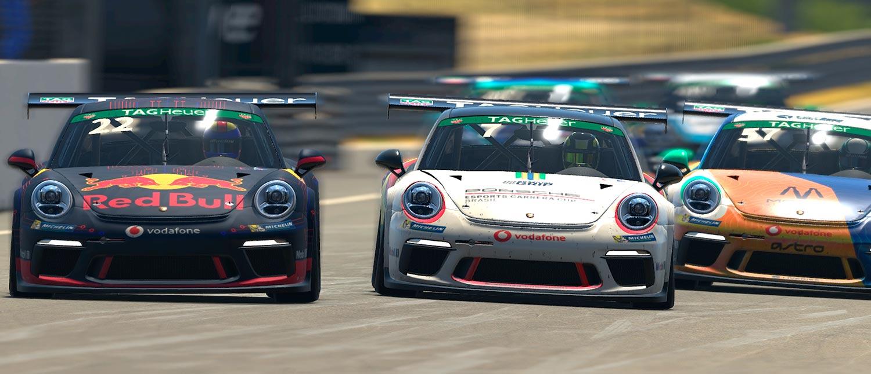 Jeff Giassi surpreende na estreia da Porsche Tag Heuer Esports Supercup