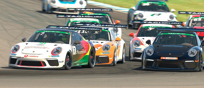 Jeff Giassi faz dois TOP10 e sobe para a nona posição geral no mundial da Porsche TAG Heuer Esports Supercup