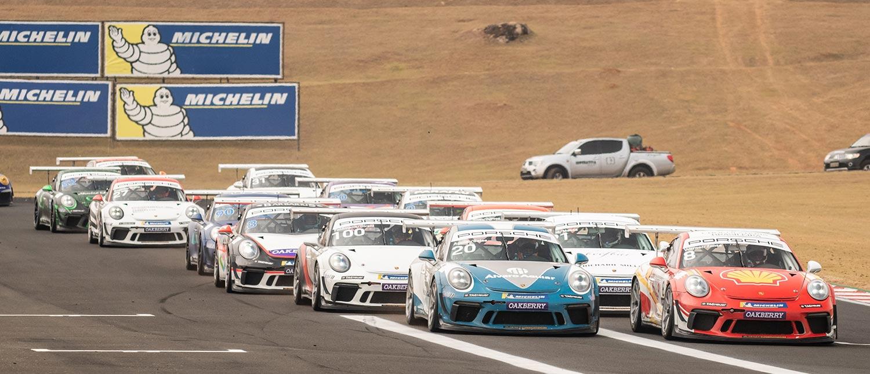 Porsche Cup atualiza seu calendário para a temporada 2021