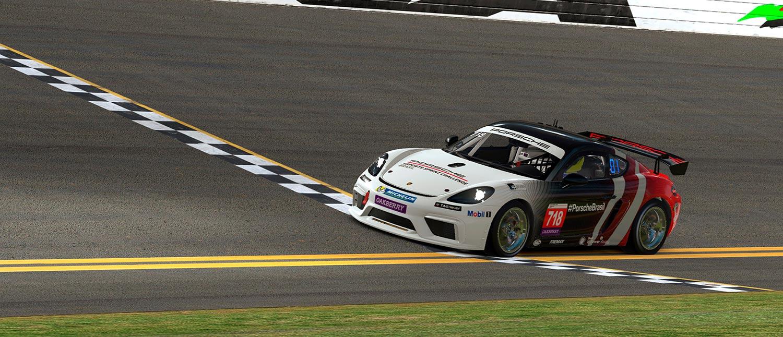 Porsche Esports Sprint Challenge acelera pela última vez na temporada e conhece campeão em Daytona
