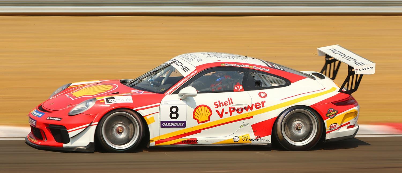 Werner Neugebauer e Ricardo Zonta cravam a pole na abertura do Porsche Cup Endurance Series no Velocitta