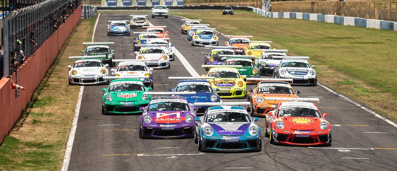 Pedro Aguiar e Guilherme Salas conquistam 300 km de Goiânia na Porsche Endurance Series