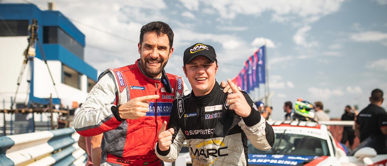 Nelson Marcondes e Nelson Monteiro: De concorrentes diretos na Sprint para parceiros no Endurance