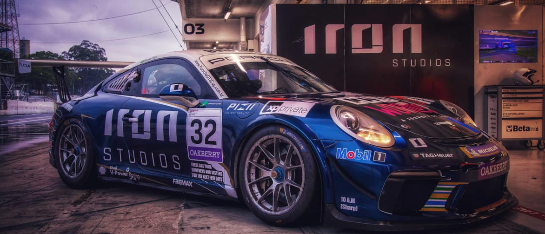 Spoiler Alert: Carro de Renan Pizii trouxe Spoilers e promoção para a participação da Porsche Cup na CCXP 2020