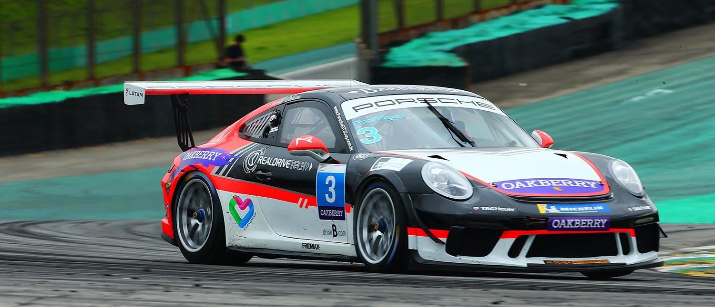 Porsche Cup: Vitória nos 500 km fica com Lara e Piquet Jr; título de Endurance acaba com Feldmann