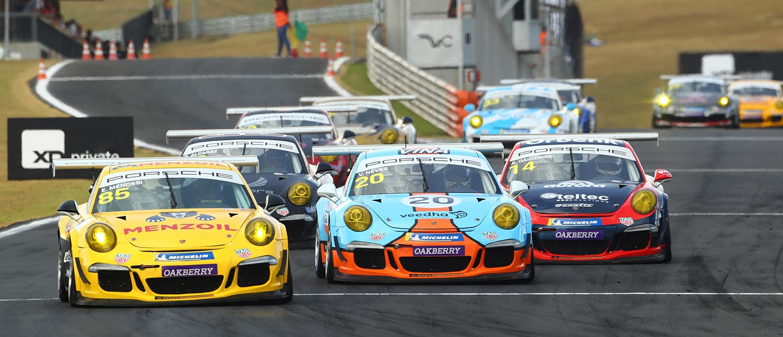 Porsche XP Private Cup: Paludo vence na Carrera Cup e Salles na GT3 Cup no Velocitta