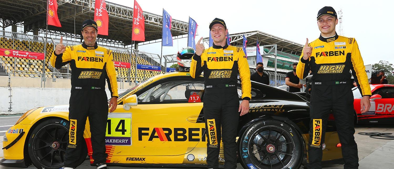 Enzo Elias está confirmado como piloto da equipe Farben em 2021 na Porsche Cup