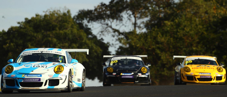 Miguel Paludo lidera treino livre da Porsche XP Private Carrera Cup por meio segundo de vantagem