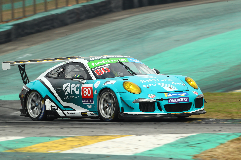 Raijan Mascarello aparece no fim para ser pole na GT3 Cup em Interlagos