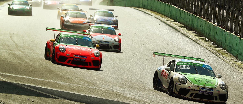 Müller e Mascarello abrem etapa de Interlagos da Porsche XP Private Cup com vitórias em Interlagos