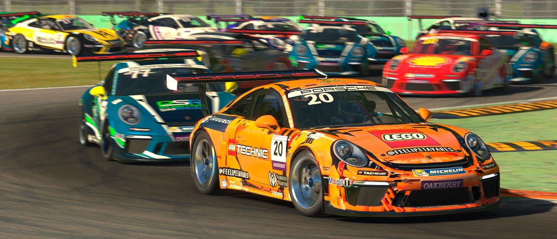 Com duas categorias e 24 corridas em 12 datas, Porsche apresenta seu programa Esports para 2021