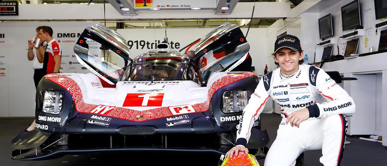 Pietro acelera pela primeira vez em Interlagos