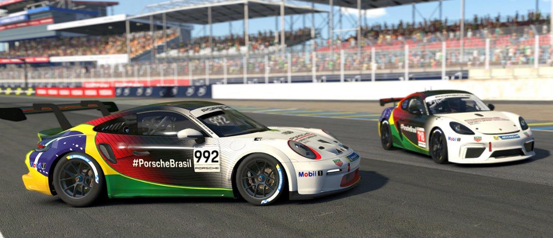 Programa Porsche Esports Brasil estreia novo carro, abre inscrições gratuitas e divulga o calendário 2021