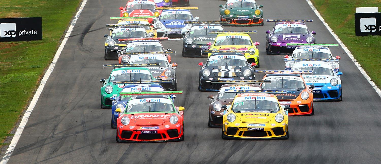 Porsche XP Private Endurance Series tem vitória de Miguel Paludo e Dennis Dirani nos 300 km de Goiânia