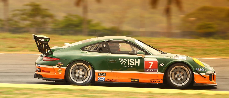 Lucas Salles é pole na GT3 Cup, em quali com 16 dos 22 carros no mesmo segundo