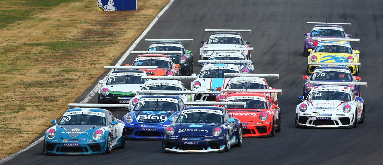 Porsche XP Private Cup define postulantes aos títulos de sprint em Goiânia