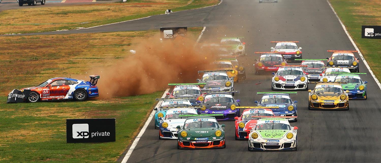 Pedro Aguiar e Lucas Salles abrem etapa da Porsche XP Private Cup com vitórias em Goiânia